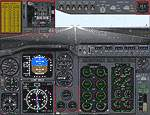 FS2000                   - re-designed 737 panel