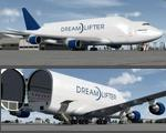 FSX/P3D> v4 Boeing 747-400LCF (Large Cargo Freighter) Package (updated)