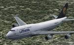 FS2004                   Boeing 747-400 Lufthansa Default Textures