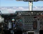 FS2004                   - BAE 146-200 photoreal panel