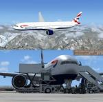 Boeing 777-300ER British Airways Package with new VC