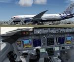FSX/P3D 3 & 4  Boeing 787-8 British Airways 4 Special Livery package