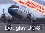 FS2004                   DC-3 Air Dynamics Modification (default aircraft, 3-tank)