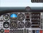 FS2000                   Aircraft & Panel -- Mooney M20M (Bravo)