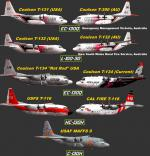P3D/FSX  C-130 Aerial Firefighting Repaint Megapack