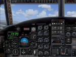 FSX                   C-2a Greyhound (or any twin-engine turbo prop aircraft) Panel