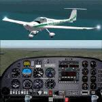 FS2004                   Diamond DA20-C1Katana North American Aviation