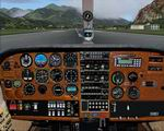 FS2004                   Cessna 210 Photoreal Panel