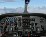 FS2004                   Cessna 210 P Pressurized Panel