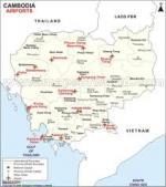 FSX Cambodia Airfield Locator