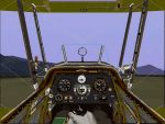 Generic                   'wood & canvas' bi-plane/ open cockpit panel