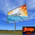 FSX Steam Edition 3D FSX Road Sign Scenery Object