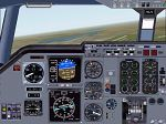 FS2000                   Alternative 2 Engined Jet Aircraft Panel.