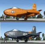 North American FJ-1 Fury Package for FSX and P3D4 (fixed radio stack)