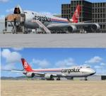 Boeing 747-8 Cargolux Freighter Delux Package