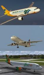 Philippines A320 Package with 3 liveries and Updated VC