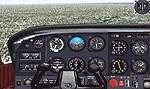 FS2000                   Default Cessna.rg - improved 3-d panel