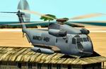 CFS2/FS2000             Sikorsky CH-53 3 Textures Package. 3 Texture sets