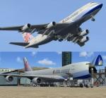 Boeing 747-400SCF China Airlines Cargo FSX with advanced VC