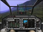 FS98/CFS                     Bell AH-1S-Z Super Cobra Panel