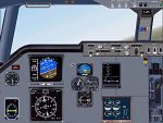 FS2000                   Panel for the Fokker 70