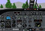 FS98                   Panel Updated Rockwell Commander 685