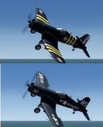 Vought F4U-6 AU-1, F4U-7_Corsair P3D4 ( & FSX)