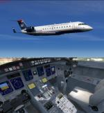 FSX/P3D Bombardier CRJ-200 FSX Native Package