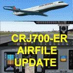 FS2004                   Bombardier/Canadair CRJ700-ER Air File Update.