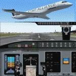 FS2004                   Bombardier/Canadair CRJ700-ER Star Alliance