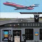 FS2004                   Bombardier/Canadair CRJ700-ER American Eagle