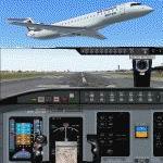 FS2004                   Bombardier/Canadair CRJ700-ER . BRITAIR (Air France)