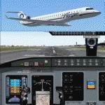 FS2004                   Bombardier/Canadair CRJ700-ER Horizon Air.