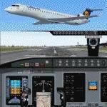FS2004                   Bombardier/Canadair CRJ700-ER Lufthansa Cityline.