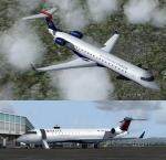 FSX/P3D Bombardier CRJ-700 FSX Native Package