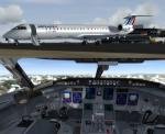 FSX/P3D Bombardier CRJ-900 FSX Native Package 2