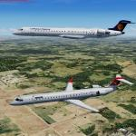 FSX/P3D Bombardier CRJ-900 FSX Native Pack 4