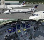 FSX/P3D Bombardier CRJ-900 FSX Native Package 3