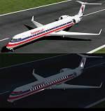 FS2000                   Bombardier CRJ700-ER American Eagle