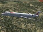 CRJ 700 Lauda Air Textures