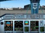 FS2004                   Embraer ERJ-145 panel Version 1