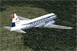 FS2004                  KLM Convair CV340/440