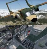 FSX/P3D 3/4 CV-10T Bronco Spanish  Air Force 3 livery package