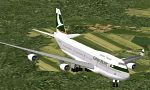 FS2000                   Cathay Pacific Boeing 747-400