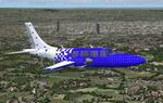 FS2004                   Ted Smith Aerostar 601P N35LL Textures only.
