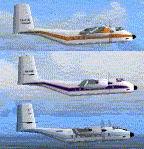 FS2004                   De-Havilland Canada DHC-4 Caribou Textures Pack 1
