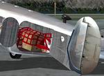 FS2004                  Beechcraft D18S Cargo Version Upgrade.