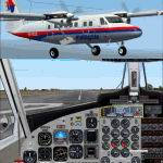 FS2002                   Project Globe Twotter DHC6-300. Malaysia Airlines