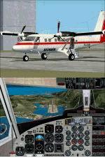 FS2004                     Project Globe Twotter DHC6-300, Winair