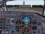 FS2000                   DC 9 co-pilot panel